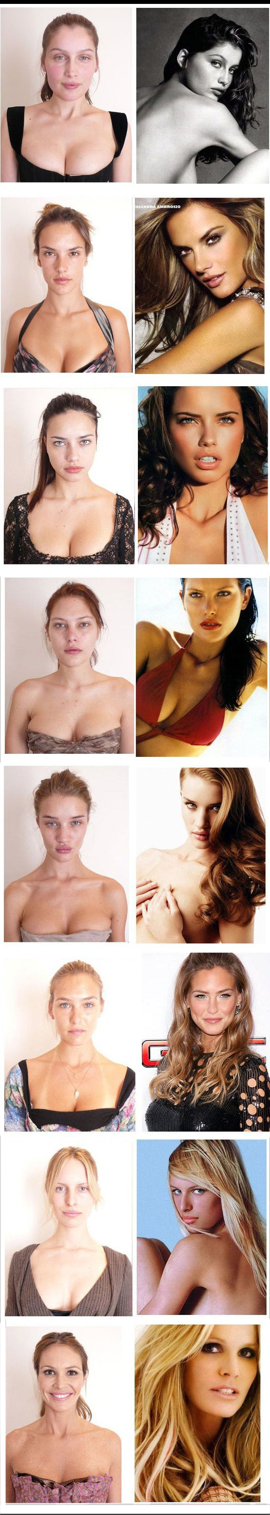 Supermodels before