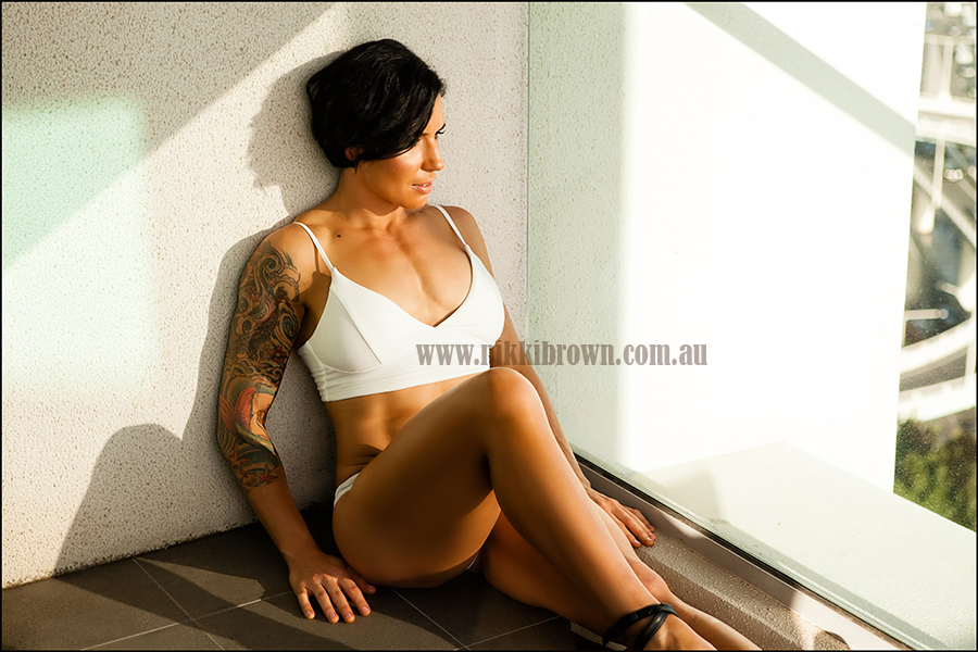 Brisbane glamour photography inked girl