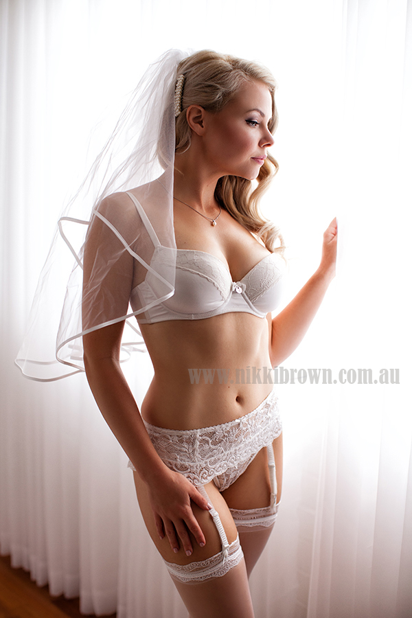 Brisbane bridal boudoir photography