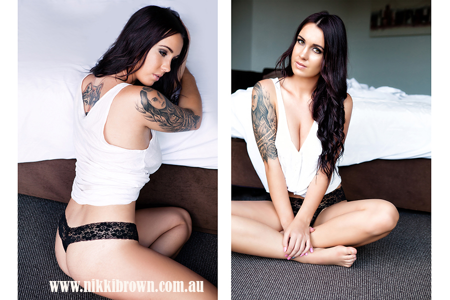 Brisbane boudoir photo shoot