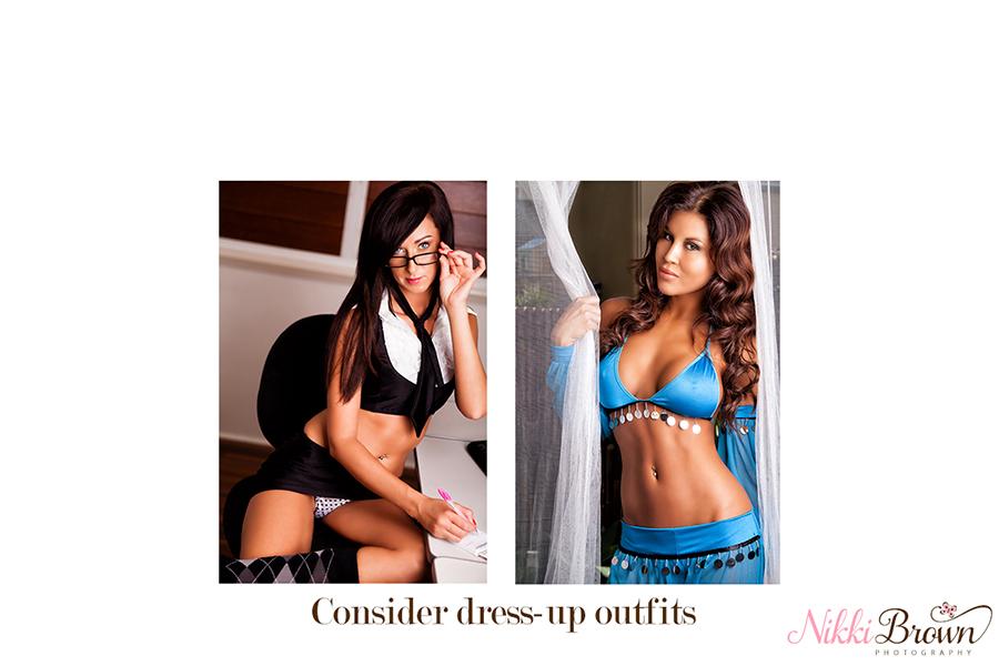 Brisbane boudoir outfit tips